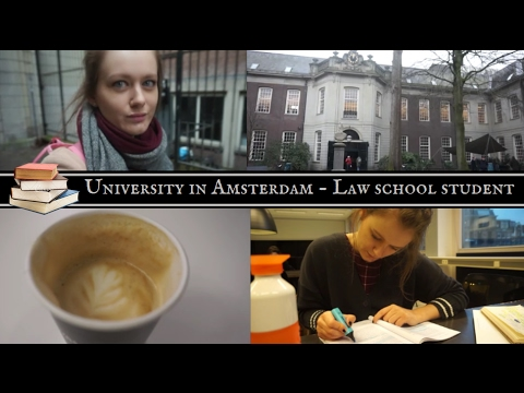 University vlog! - Law school in Amsterdam - study with me