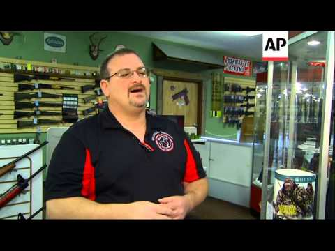Some suburban St. Louis gun dealers have been doing brisk business, particularly among first-time bu