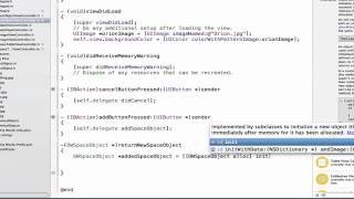 iOS Programming Tutorial - Creating the Own Protocols for Deletegation in Objective C Part 4 - 28