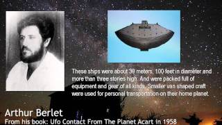 Arthur Berlet ET Contact From The Planet Acart 1of6