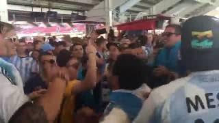 Argentina fans in Copa America Centenario