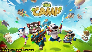 Talking Tom Camp Android Gameplay Ep 1