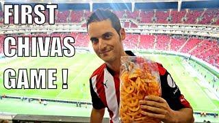 My First Soccer Game in Mexico! (Chivas vs Santos)- Gringo in Estadio Chivas