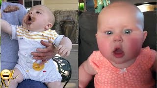 1 Hours Funny Baby Videos 2018 | World's huge funny babies videos compilation Vol 5