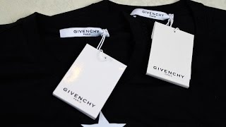 Real vs Fake Givenchy Tshirt G…