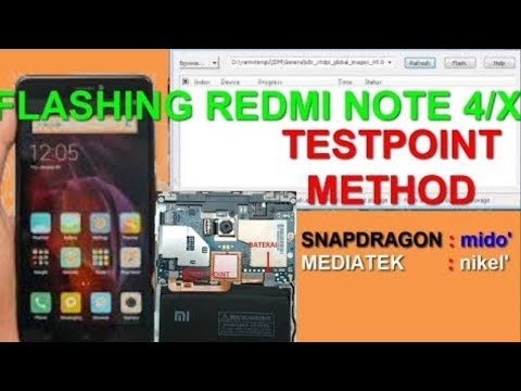 cara-flash-redmi-note-4/4x-bootloop-(mido)-testpoint-method-work-100%!