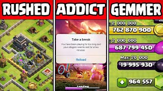 10 Types of Clash of Clans Players (Episode 1)