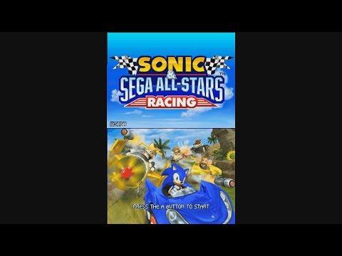 Nintendo DS Longplay [005] Sonic & Sega All-Stars Racing
