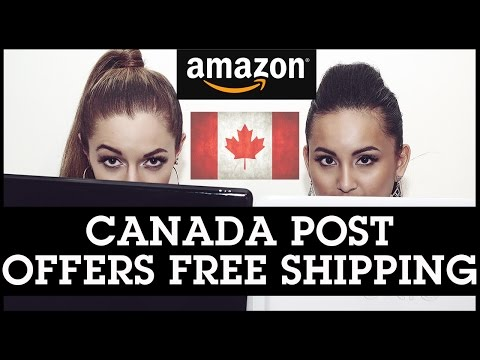 Amazon FBA Canada: Canada Post Offers FREE Shipping in October 2016!!!