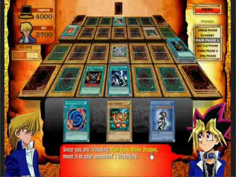 how to play yugioh card game video