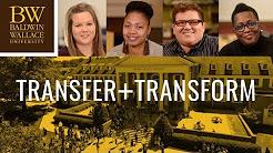 Transfer and Transform at Baldwin Wallace University