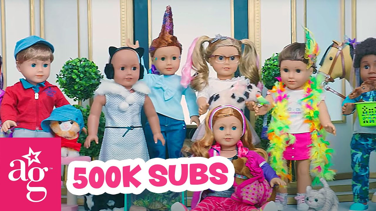 Best of American Girl Videos EVER! 500k Subscribers Special | @American Girl