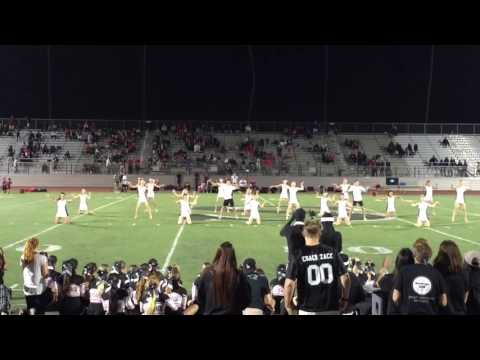 2016 Santiago High School Dance team halftime performance