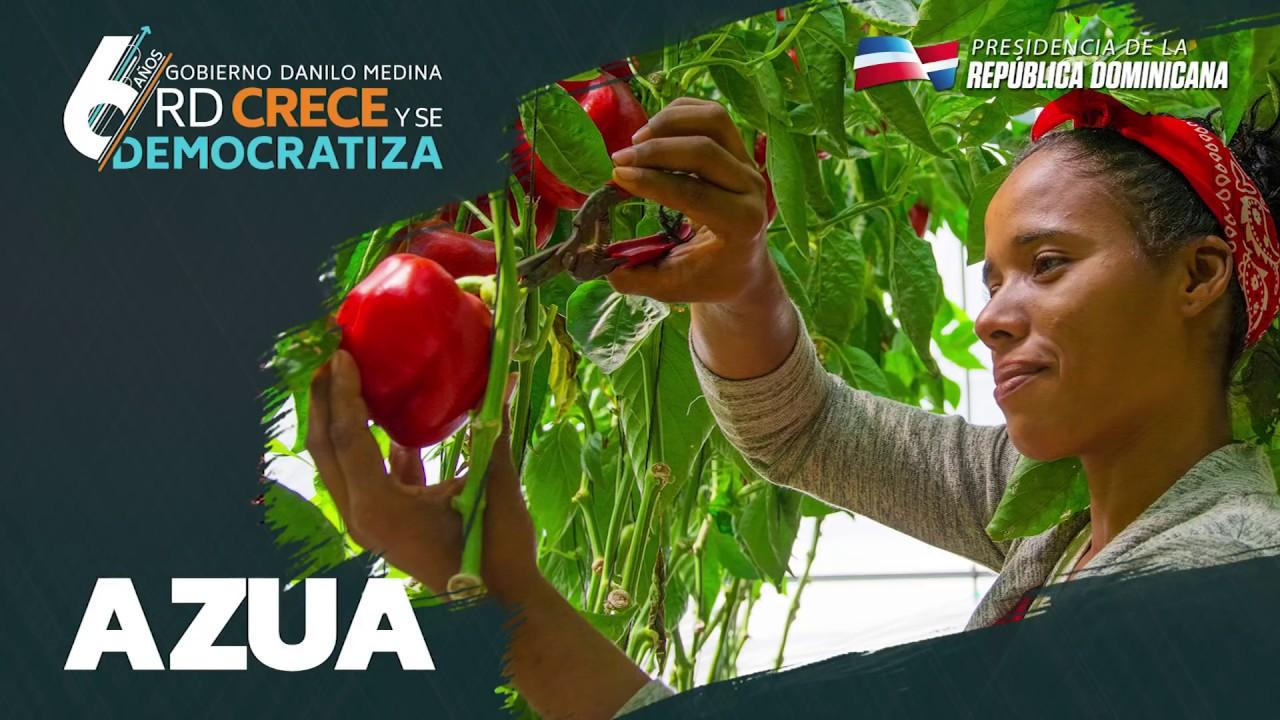 Azua. - RD CreceY  Se Democratiza 6 años - 2018