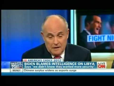Rudy Giuliani Embarrasses Soledad O