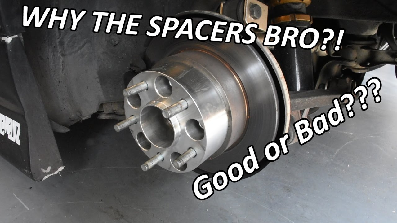 medium resolution of wheel spacers good or bad spacers explained