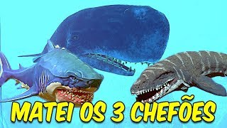 Video MATANDO O MEGALODON, MOSASAURUS E A MOBYDICK   Feed and Grow: Fish download MP3, 3GP, MP4, WEBM, AVI, FLV September 2018