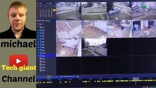 Night owl 1080p Home surveillance system 16 security cameras