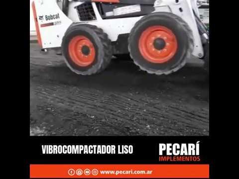Vibrocompactar liso / Septiembre 2019