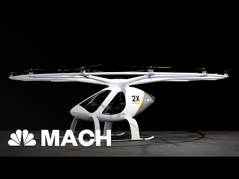 Volocopter X2 Electric Aircraft Could Revolutionize 'Air Taxi' Industry   Mach   NBC News