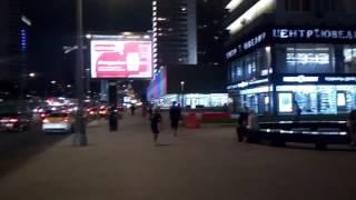 . Москва. Улица Новый Арбат после реконструкции(Москва — столица Российской Федерации, город федерального значения, административный центр Центрального..., 2016-08-22T19:53:49.000Z)