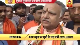 UP: CM Yogi Adityanath ministers talk to ABP News