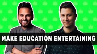 Make Education Entertaining - with Jay Shetty