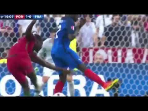 Golo de Éder. Eder's Amazing Goal, Portugal vs França Euro 2016. Show radiofónico. Impressionante!