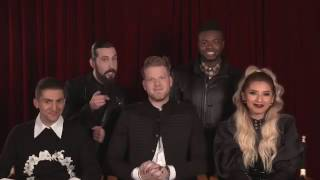 A Pentatonix Christmas Special - Bloopers!