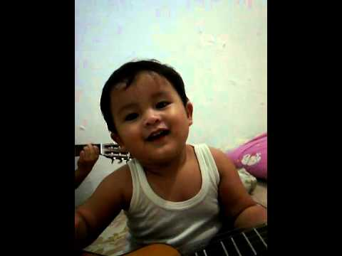 Baby singing    10,000 reasons (Bless The Lord O My Soul)    Rhemateo    1year baby singing