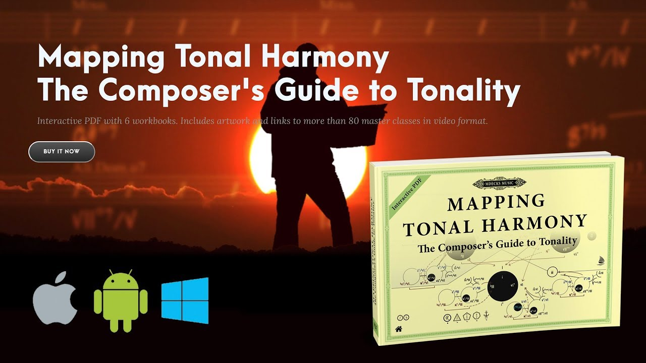 The Composer's Guide to Tonality  Created using Mapping Tonal Harmony Pro