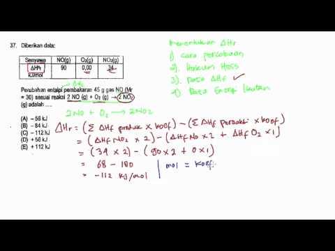 Pembahasan Soal SBMPTN Kimia 2014 No. 36 - 40