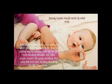mẹo trị nghẹt mũi cho trẻ sơ sinh tại Gaubongre.com