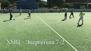 Обзор матча 2 ого тура Чемпионата Верхней Пышмы по мини футболу ХМЦ Энергетика