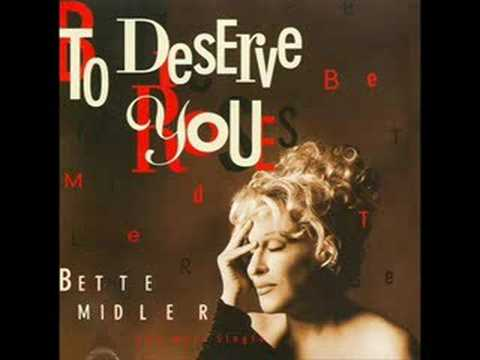 Bette Midler To Deserve You Arifs Extended Dance Mix