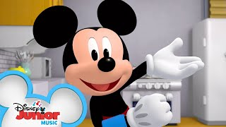 Hey, Hey It's Breakfast | Music Video | Mickey Mornings | Disney Junior