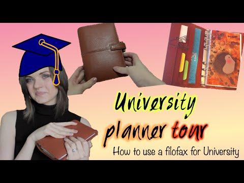 University Col Planner Tour