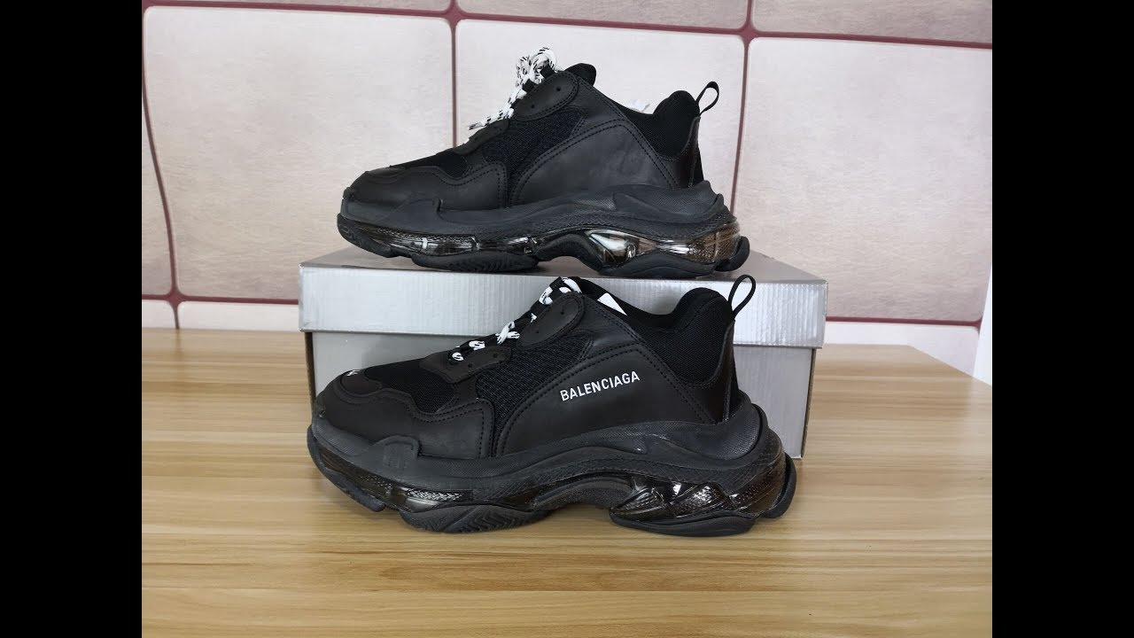 Men s Adidas Street Style With Balenciaga Triple S Pinterest