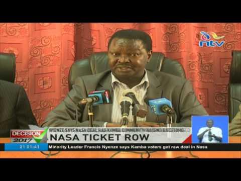 Nyenze says NASA deal has Kamba community raising questions