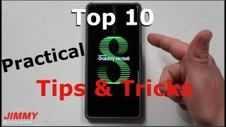Top 10 Note 8 Tips & Tricks for Real Life
