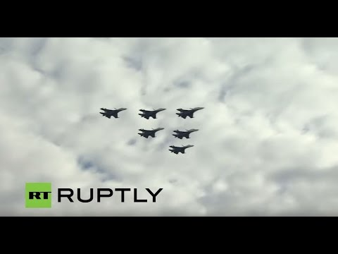 LIVE: Final day of MAKS-2015 international airshow in Moscow region