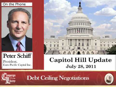 Peter Schiff on the Debt Ceiling: 07/28/11