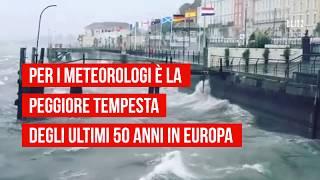 L'uragano Ophelia piomba sulle coste europee, morti in Spagna, Portogallo e Irlanda