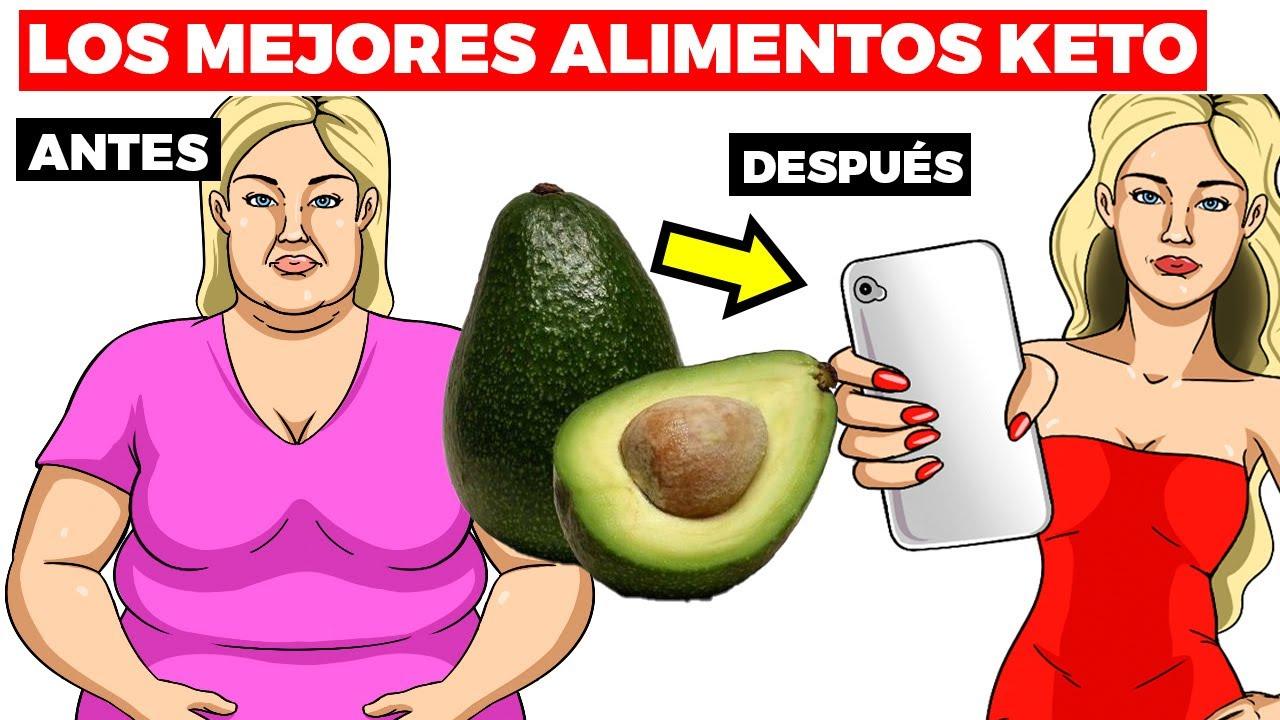 Los 15 mejores alimentos keto para bajar de peso