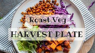Simple Roast Veg Harvest Plate