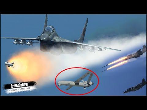 Воздушный бой Армении и России с условным противником: Баку получил Anka-S?