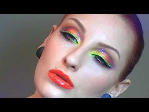 Rainbow Makeup Tutorial / EASY BRIGHT SUMMER MAKEUP LOOK thumbnail