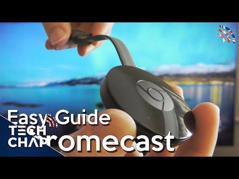 hook up my chromecast