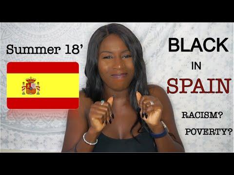 BLACK IN SPAIN: MADRID
