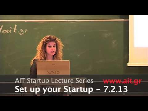 AIT Startup Lecture Series: Steps to Success - Christina Tsakona